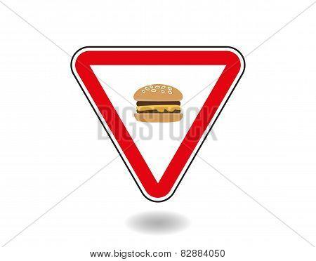 Sign Cheeseburger