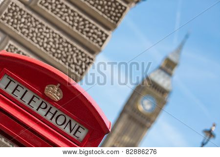 Red Phone Booths In London