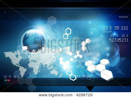 World Technology Background