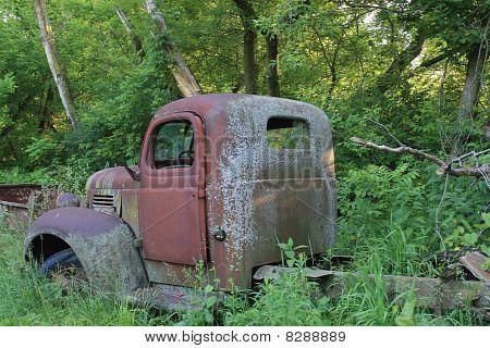 Abandoned Vintage Truck