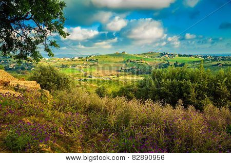 South-west Sicily Near Agrigento