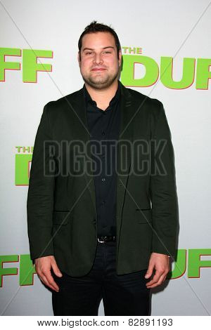 LOS ANGELES - FEB 12:  Max Adler at the