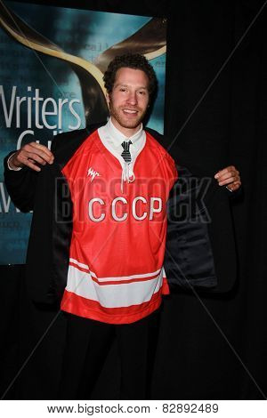 LOS ANGELES - FEB 14:  Gabe Polsky at the 2015 Writers Guild Awards at a Century Plaza Hotel on February 14, 2015 in Century City, CA