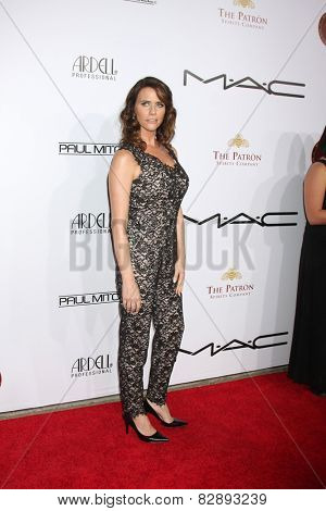 LOS ANGELES - FEB 14:  Amy Landecker at the 2015 Make-up and Hair Stylists Guild Awards at a Paramount Theater on February 14, 2015 in Los Angeles, CA