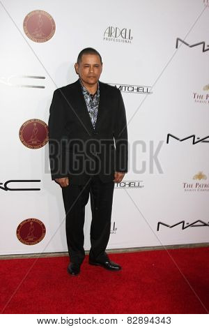 LOS ANGELES - FEB 14:  Raymond Cruz at the 2015 Make-up and Hair Stylists Guild Awards at a Paramount Theater on February 14, 2015 in Los Angeles, CA