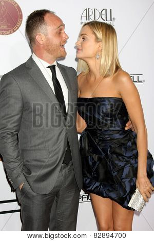 LOS ANGELES - FEB 14:  Ethan Embry, Sunny Mabrey at the 2015 Make-up and Hair Stylists Guild Awards at a Paramount Theater on February 14, 2015 in Los Angeles, CA