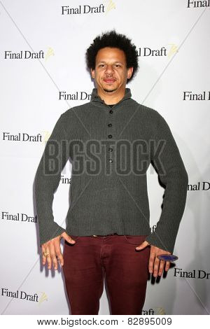 LOS ANGELES - FEB 12:  Eric Andre at the 10th annual Final Draft Awards at a Paramount Theater on February 12, 2015 in Los Angeles, CA