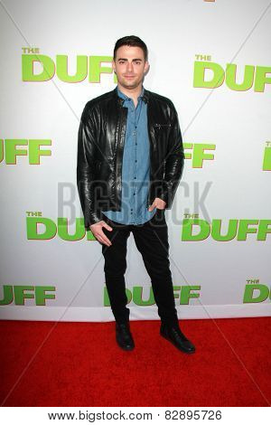 LOS ANGELES - FEB 12:  Jonathan Bennett at the