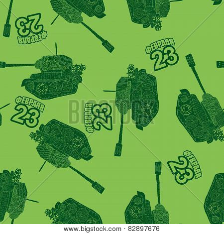 tank seamless pattern.