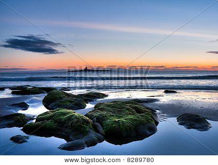 Reino Unido Northumberland playa
