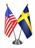 pic of sweden flag  - USA and Sweden  - JPG