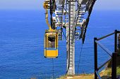 stock photo of car carrier  - Cableway  - JPG