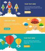 stock photo of parachute  - Vector illustration - JPG