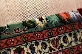 stock photo of handloom  - Weaver on Traditional Turkish Hand Loom - JPG
