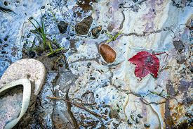 picture of toxic substance  - An old abandoned child - JPG