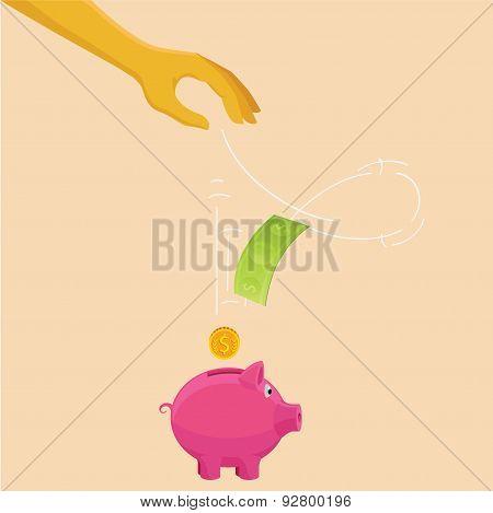 Savings or banking