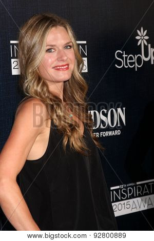 LOS ANGELES - JUN 5:  Maggie Lawson at the Step Up Women's Network 12th Annual Inspiration Awards at the Beverly Hilton Hotel on June 5, 2015 in Beverly Hills, CA