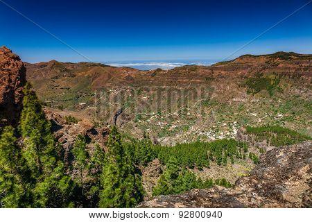 Gran Canaria hillside villages