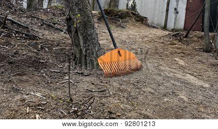 rake orange