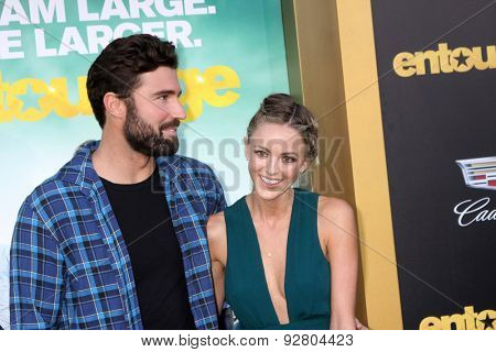LOS ANGELES - MAY 27:  Brody Jenner, Kaitlynn Carter at the