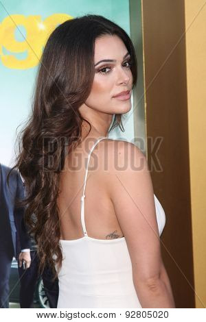 LOS ANGELES - MAY 27:  Anabelle Acosta at the