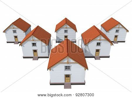 Architecture Model Private Houses