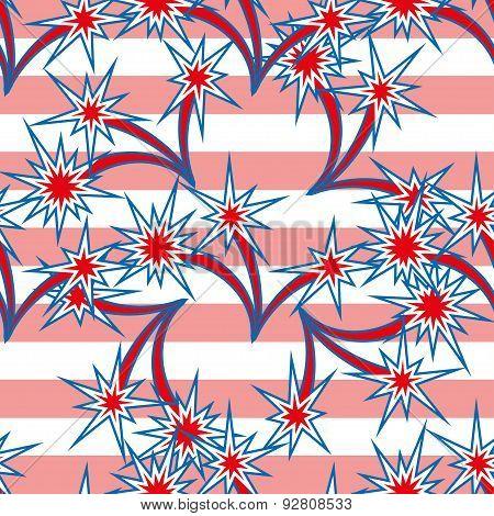 USA background