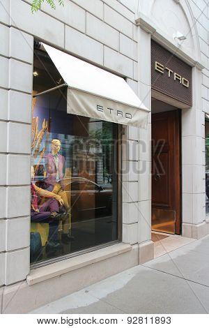 Etro, Madison Avenue
