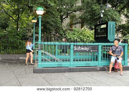 Subway Station New York