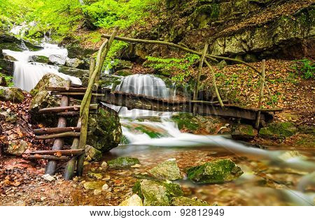 Small River In Balkan Mountains, Bulgaria