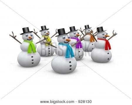Holidays - Snowmen #2