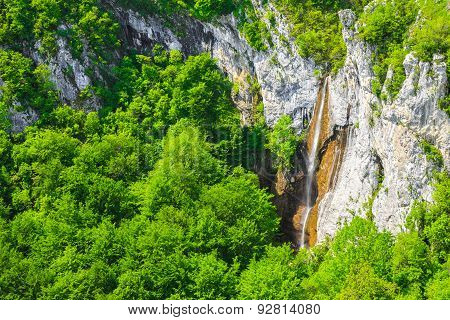 Beautiful Waterfall In Vratsa Balkan Mountains