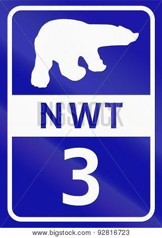 Northwest Territory Highway 3