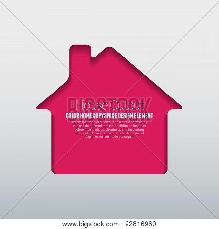 House Cutout Copyspace