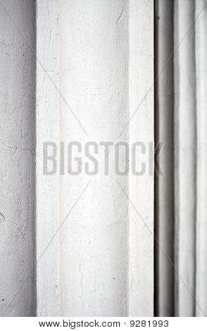 Classical Column Closeup. Abstract Architecture Background.