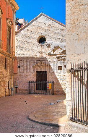 Church of St. Pietro. Barletta. Puglia. Italy.