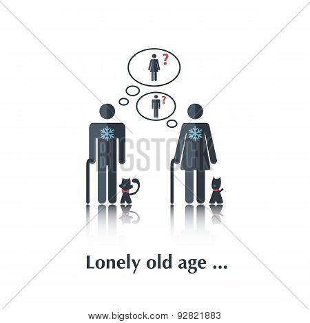 Lonely old age