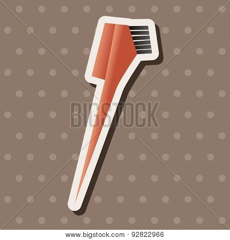 Hair Dye Products Theme Elements