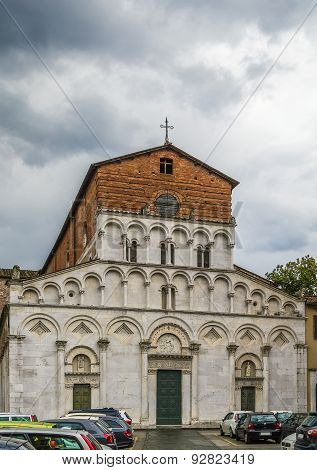 Chiesa Di Santa Maria Forisportam, Lucca, Italy