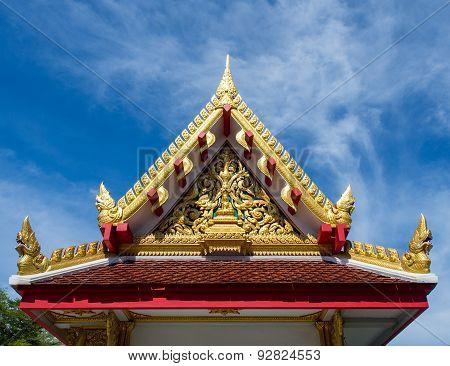 Temple Gable,beautiful Design.