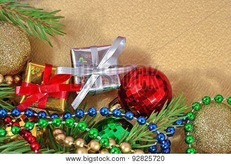 Varicolored Christmas Decorations
