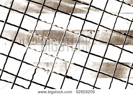 Abstract Metal Wire
