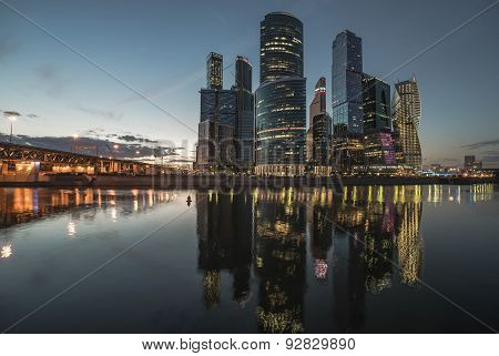 Business Center Moscow-city.
