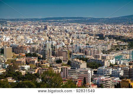 Residential District Of Palma De Mallorca