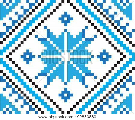 Element Of Ethnic Ornament, Seamless Pattern. Vector Illustration