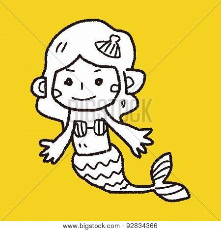 Mermaid Doodle