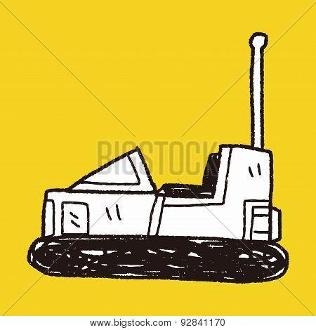 Bumper Car Doodle