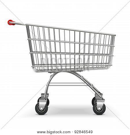 Vector Supermarket Trolley