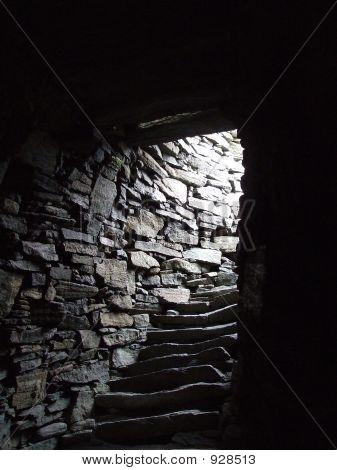 Inside A Broch