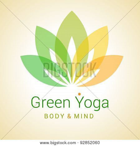 Lotus Flower As Symbol Of Yoga